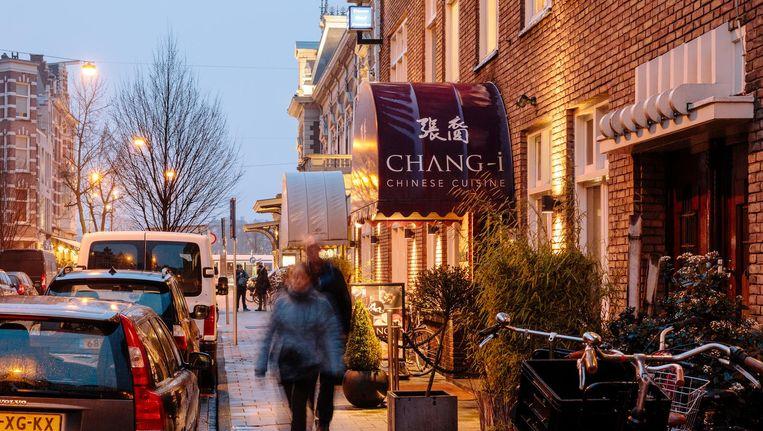 Chinees restaurant Chang-i aan de Jan Willem Brouwersstraat in Amsterdam Zuid. Beeld Marc Driessen