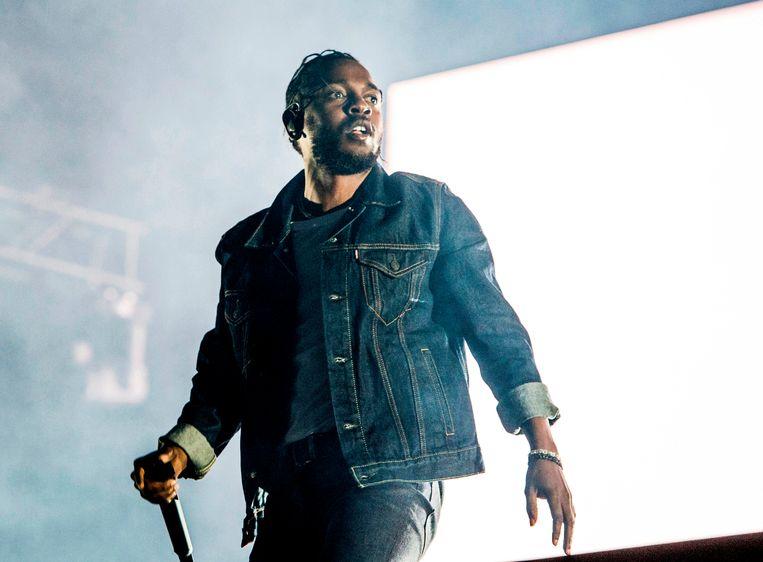 Kendrick Lamar in 2017. Beeld AP