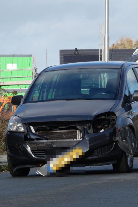 Overstekende hond aangereden in Ede: flinke schade aan auto