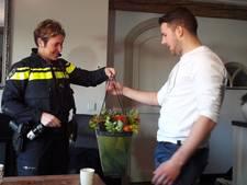 Penning voor Jim Muller (21) na heldhaftig optreden tegen dief die tasje van 72-jarige vrouw stal