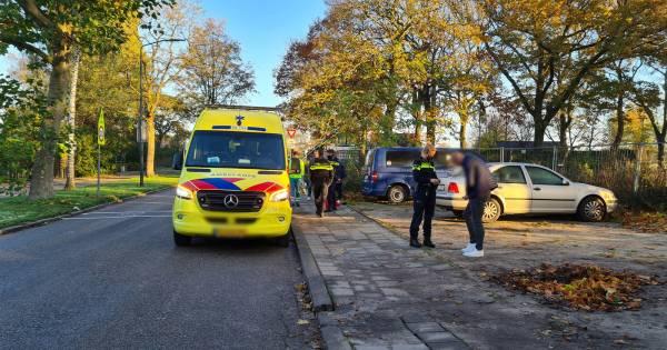 Fietsster gewond door botsing met personenauto in Sprang-Capelle.