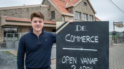 Nieuwe naam, nieuwe start: café 't Rozenhof heropent als café De Commerce