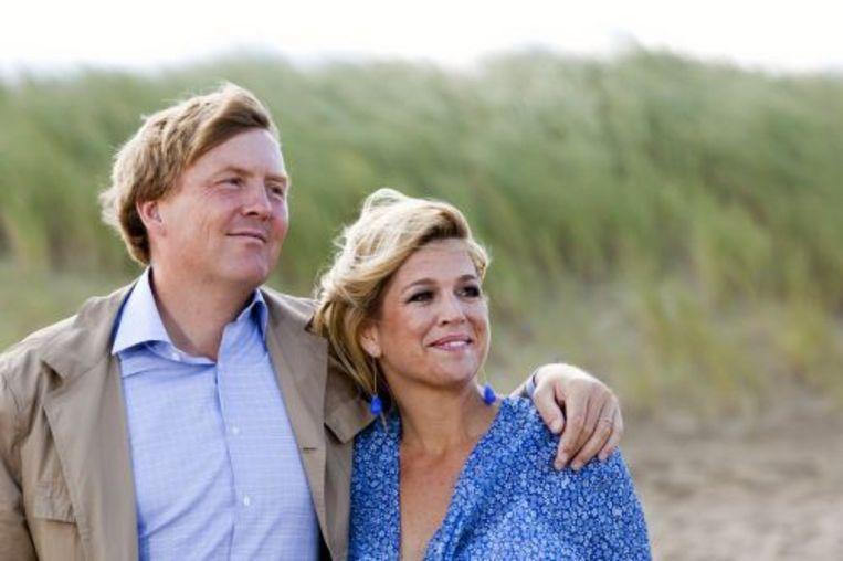 Premier Balkenende moet zich vandaag in de Tweede Kamer verantwoorden over het vakantiehuis van prins Willem-Alexander en prinses Máxima in Mozambique. Foto ANP Beeld