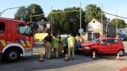 Twee lichtgewonden bij ongeval op kruispunt 'Duizend Appels'