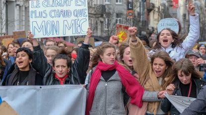 Leuvense Studenten ruilen de romantiek van Valentijn in voor de klimaatstrijd in Brussel