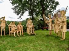 Vrijheid Blijheid bij Kunstroute in Mill