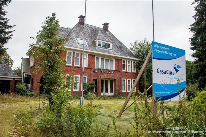 De villa aan Hogelandsingel