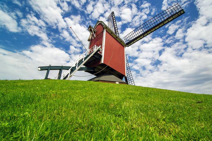 Een molen in Alphen.