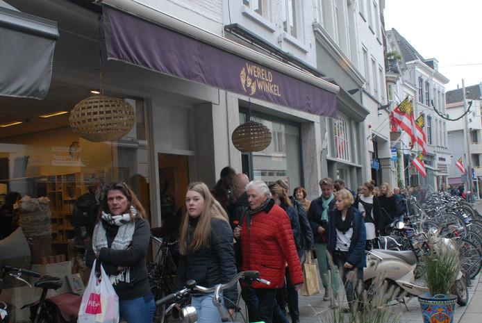 Wereldwinkel in de Vughterstraat in Den Bosch