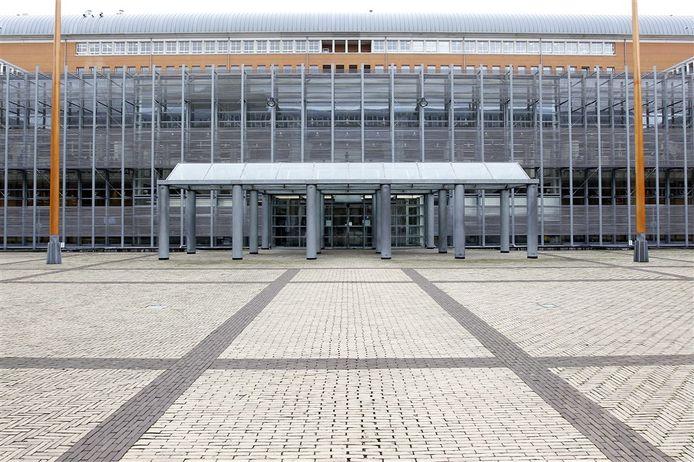 Exterieur van het Paleis van Justitie in Den Bosch.