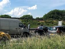 N3 bij Papendrecht richting A15 weer vrijgegeven na ongeluk, file lost op