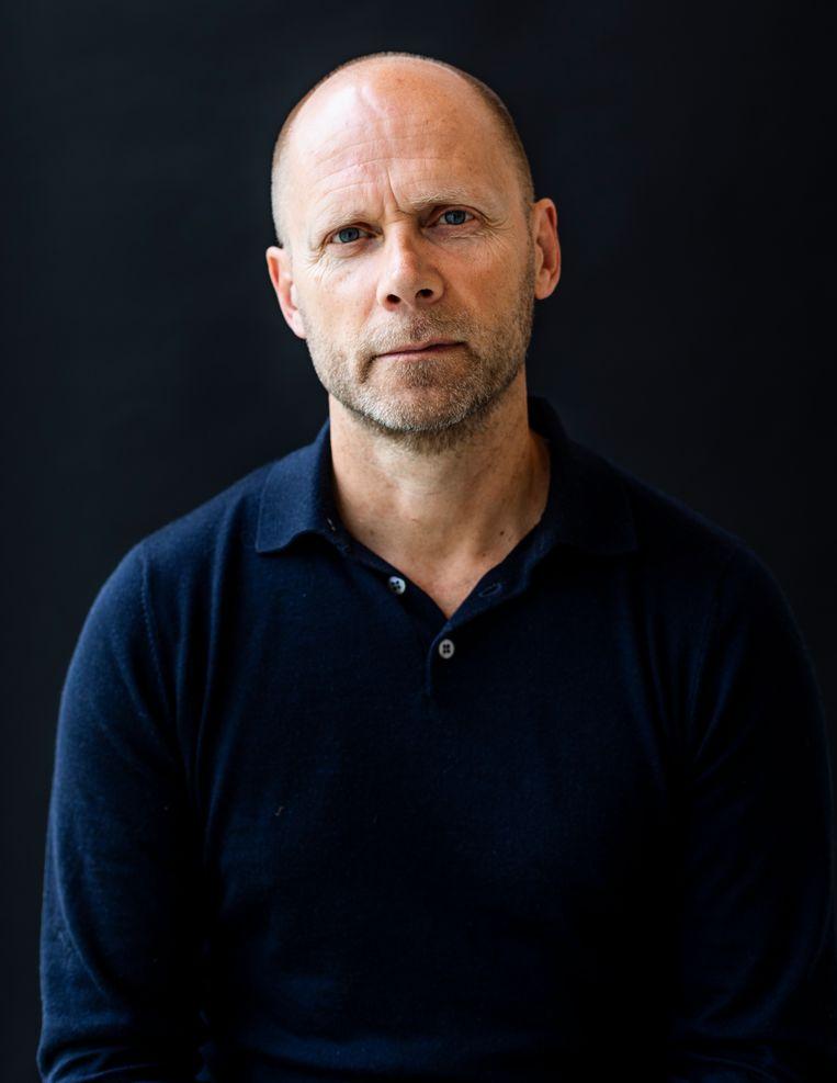 Hans Faber: 'Ik dacht heel naïef dat ik het wel had gezien in de financiële journalistiek.'  Beeld Lin Woldendorp