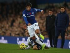 Son in tranen na beenbreuk Everton-middenvelder Gomes
