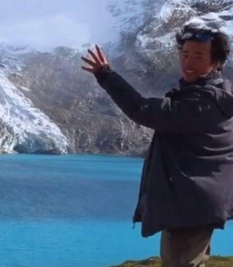 Gletsjerjager (30) verongelukt tijdens maken video smeltende ijsplaat voor miljoenen fans