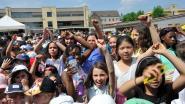 Zesdejaars sluiten MEGA-project feestje af