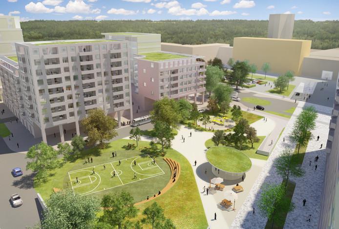 Het CDA kwam met het voorstel om van de vijfhonderd bij het ziekenhuis geplande woning 15 procent te bestemmen voor sociale huur.