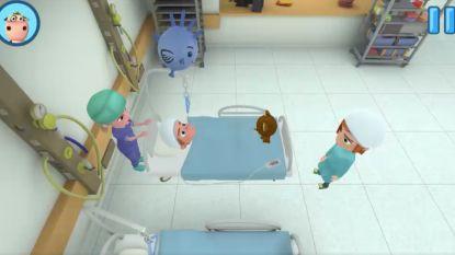 Dit spelletje neemt bij kinderen angst voor operatie weg