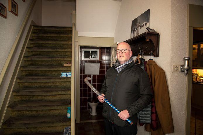 Gert van Lunteren twijfelde niet toen de inbreker bij hem in de slaapkamer stond.
