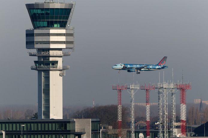 De Skeyes-toren op Brussels Airport
