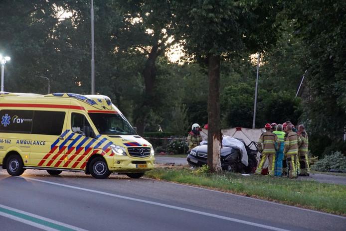 Een automobilist kwam zaterdagavond om het leven bij een ongeval in de buurt van Nieuwleusen.