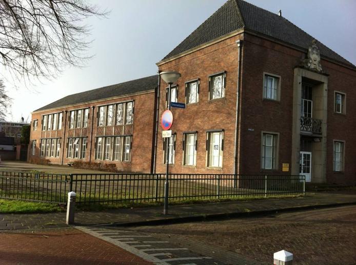 De oude school aan de Irenelaan in Vught.
