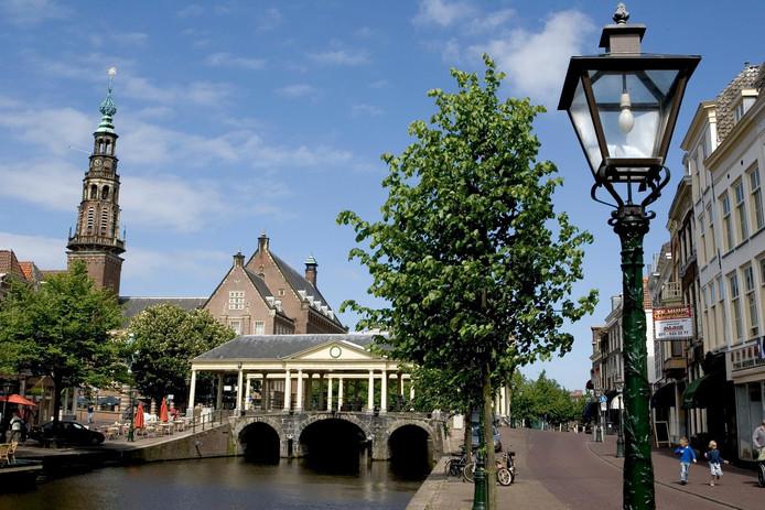 Stadsgezicht Leiden, foto ter illustratie