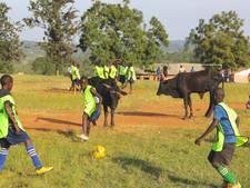 Voetbal in een totaal andere wereld
