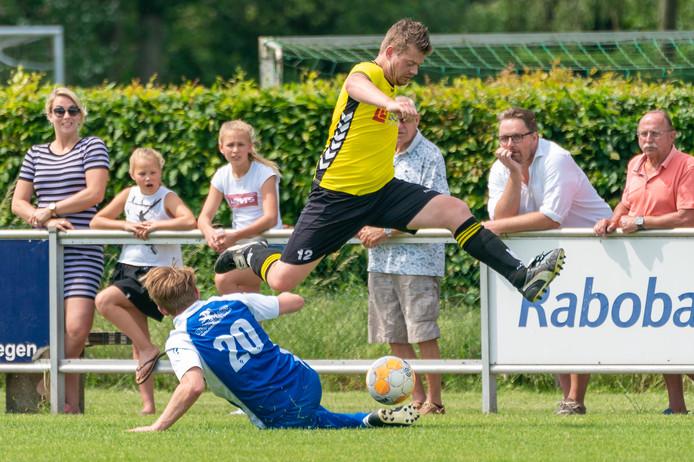Joost Horstink (20) bereikte met Pax de halve finale van de nacompetitie.