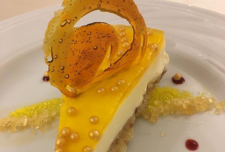 Cheesecake met limoncello. Beeld Mac van Dinther