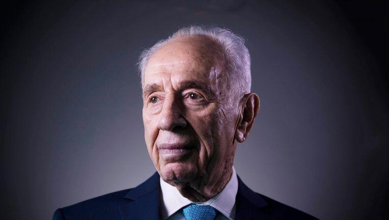 Shimon Peres op 8 februari 2016. Beeld AP