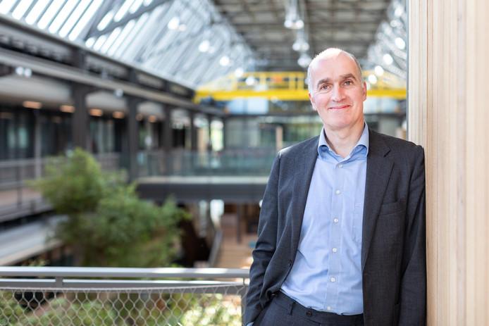 Medisch directeur Jouke Tamsma van het Technisch medisch Centrum (TechMed Centrum) van de Universiteit Twente.