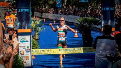 Diego Van Looy schrijft geschiedenis: 27-jarige Mechelaar wint als eerste Belg superzware triatlon in Franse Alpen