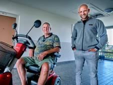 Hardloper Kevin redt Hans (63) van brandende scootmobiel: 'Dit had heel anders kunnen aflopen'