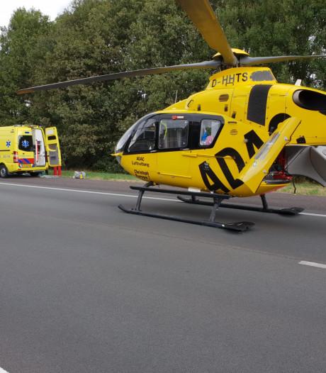 Automobilist overleeft aanrijding met vrachtwagen niet op snelweg bij Hengelo