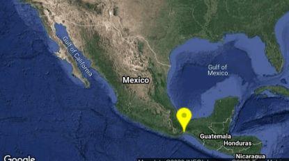 Aardbeving met kracht 5,3 treft zuiden van Mexico