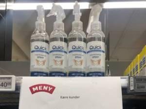 """Le modèle pour dissuader les écureuils? """"Le 1er gel désinfectant à 5 euros, le second à 134 euros"""""""