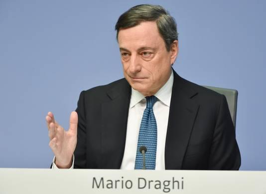 ECB-voorzitter Mario Draghi heeft geen verdere renteverlagingen in het verschiet.