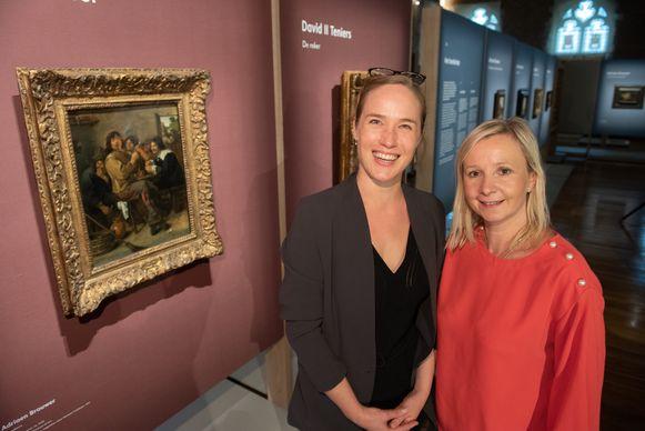 Curator Katrien Lichtert en MOU-conservator Geertrui Van Kerkhoven kunnen trots terugblikken.