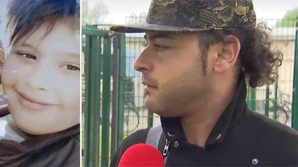 Bassem Chihadeh, de oom van Daniël, eist de sluiting van het asielcentrum in Broechem.
