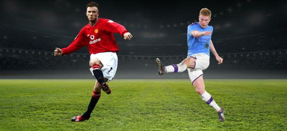 Beckham vs De Bruyne.
