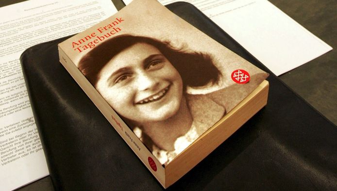 Le Journal d'Anne Frank dans sa version en allemand.