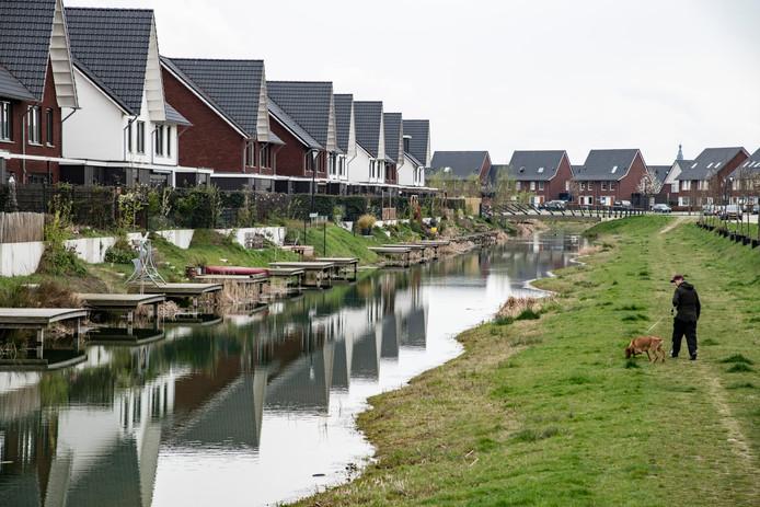 Vrijwel alle woningen in de Waalsprong zijn aangesloten op het warmtenet van Nuon aangesloten.