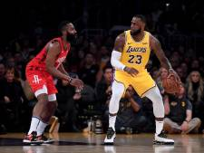 Lakers verslaan Rockets na inhaalrace
