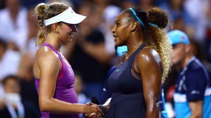 Elise Mertens niet opgewassen tegen Serena, Barty nummer één af - Zverev niet zonder moeite