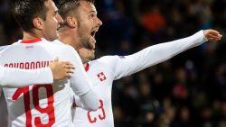 Zwitserland blijft in running voor groepswinst, IJsland degradeert naar B-divisie