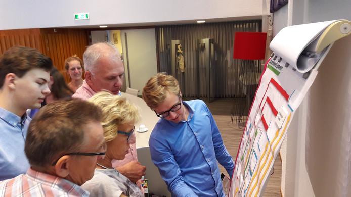 Cursus Politiek Actief in Laarbeek.