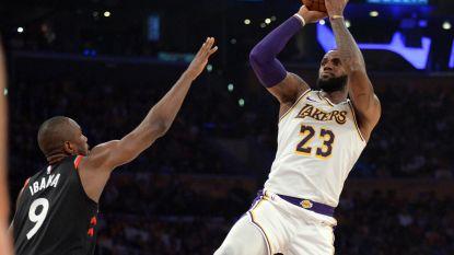 VIDEO. LeBron James gaat met Lakers onderuit tegen Toronto: zesde verliest in tien duels