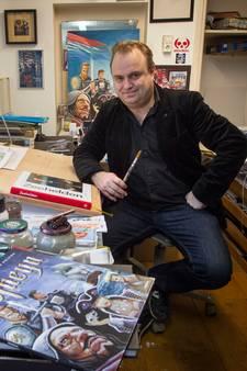 John Heijink uit Eindhoven: stripversie van Piet Heijn is groot en stoer