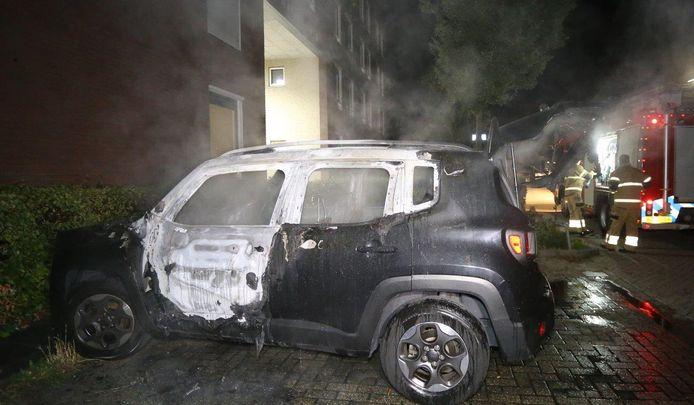 Autobrand Schaloen Den Bosch.
