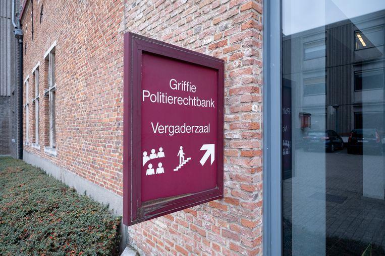 De griffie van de politierechtbank in Mechelen